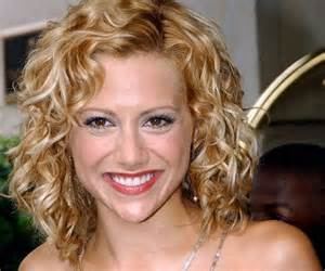 blonde curly hair women picture 9