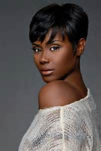 black short hair styles picture 9
