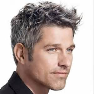 men's gray hair styles picture 2