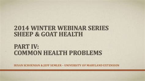 health problems of goats picture 1