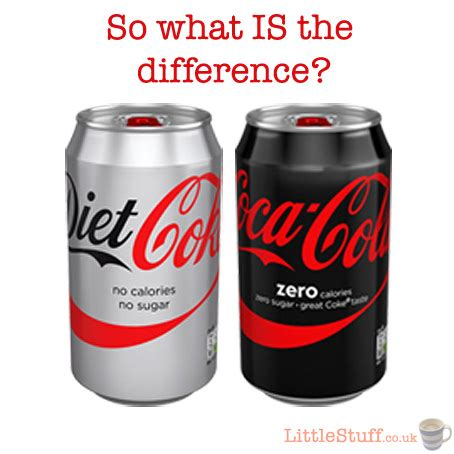 what is the difference between diet coke and picture 1