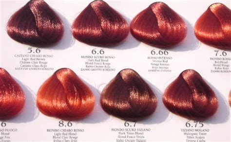 color chart for red hair dye picture 10