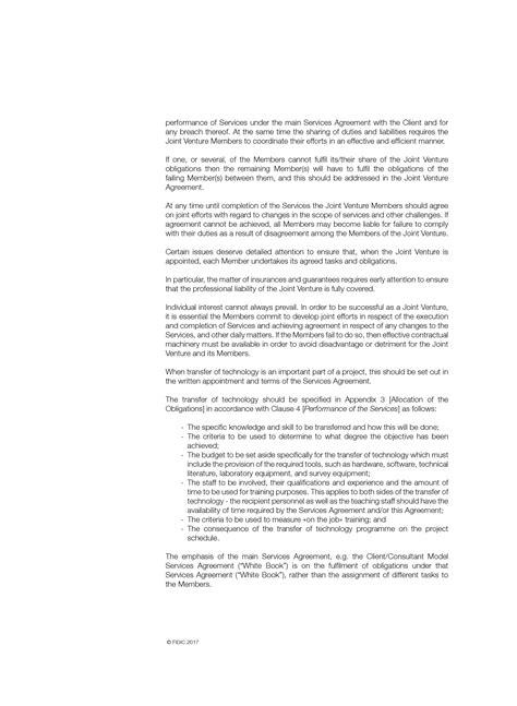 fidic joint venture consortium agreement picture 9