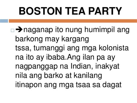 ano ang boston tea party picture 9