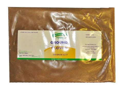 weight lose and ground cloves picture 1