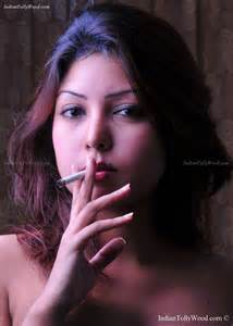 hd latest pic of hot cigarette smoking with picture 5