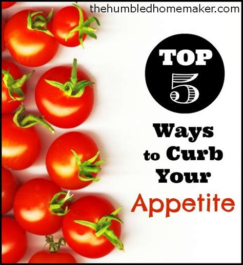 ways to curve your appetite picture 1