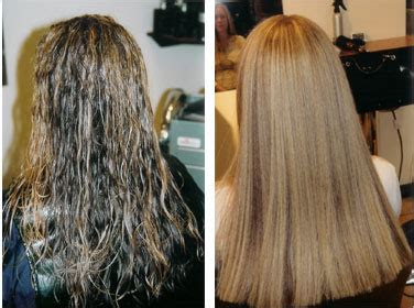chemical hair straightening picture 1