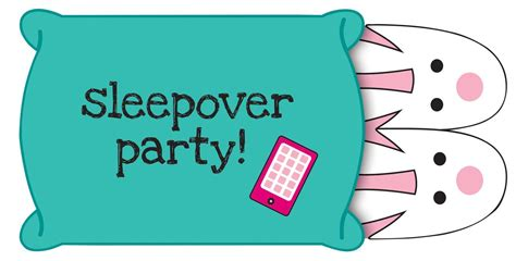 clip art with sleep over partys picture 17