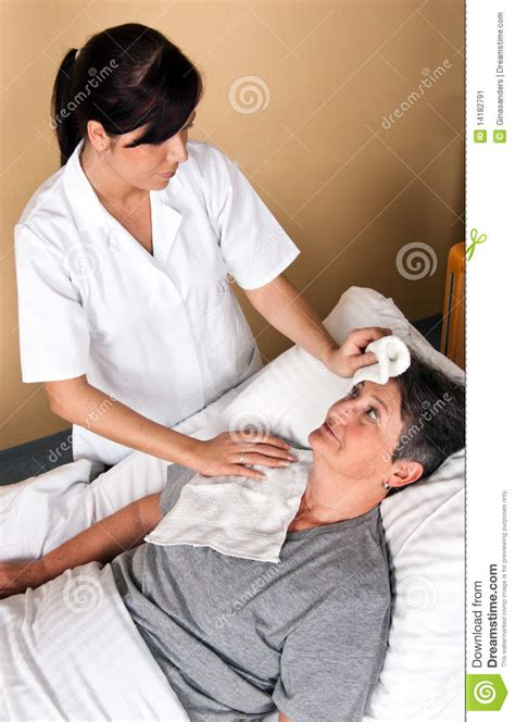 when bathing a female patient s genital area picture 8