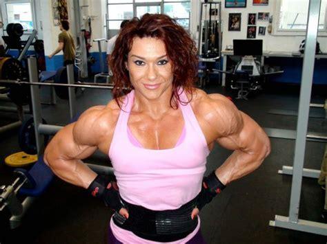 women bodybuilding wrestling picture 6