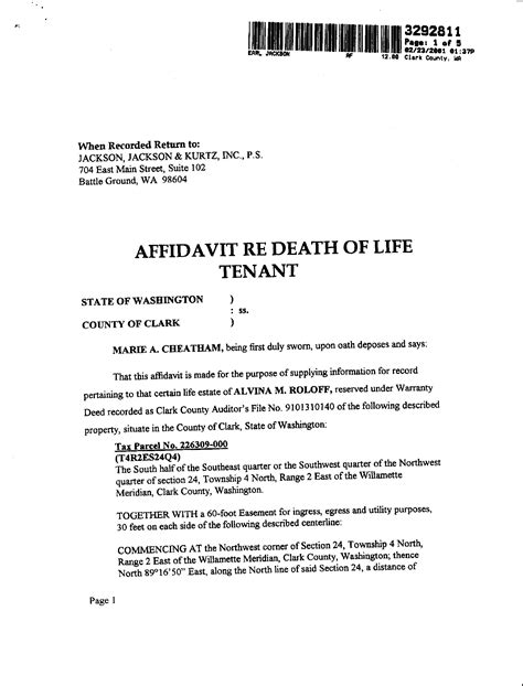 affidavit of death of joint tenant picture 11