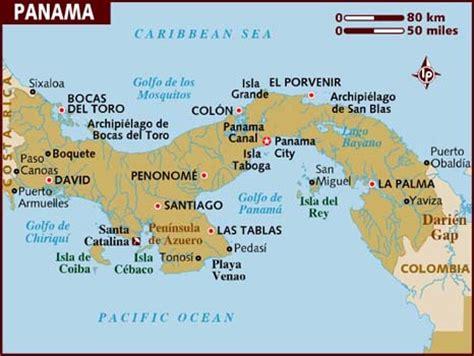 city map of isla colon panama picture 2