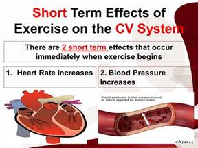 effects of exercise on heart rate and blood picture 1