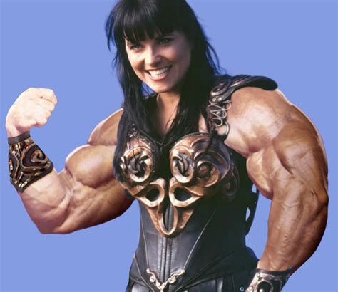 morphed muscle women picture 9