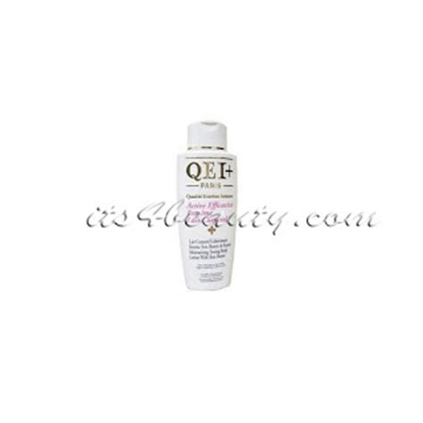 is the body lotion qei+paris very effective and what are the picture 5