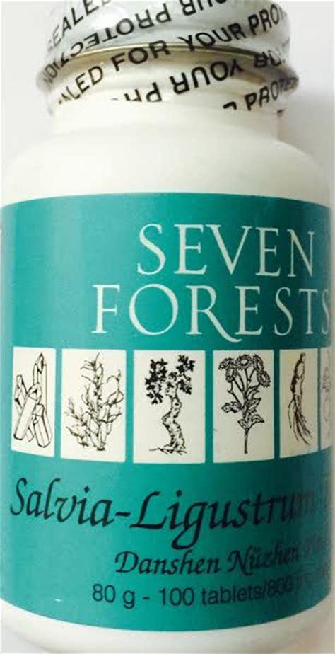 seven forests salvia/ligustrum tablets picture 1