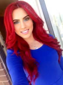 coloring your hair red picture 5