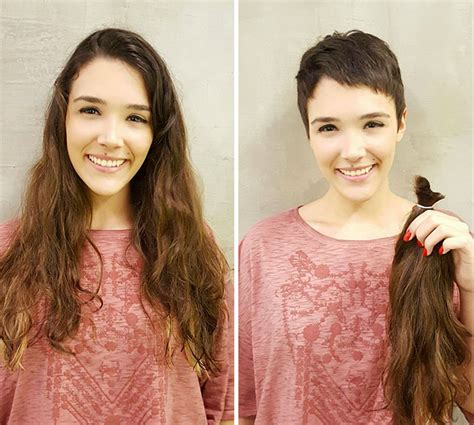 dramatic long to short hair makeovers picture 5