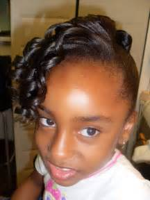 Black hair style for kids picture 3
