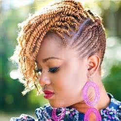 pictures of black hairstyles of flat twists picture 1