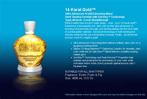 designer skin tanning products picture 3