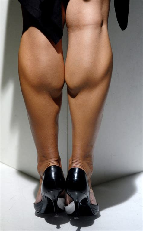 women with musclar legs especially calves picture 2