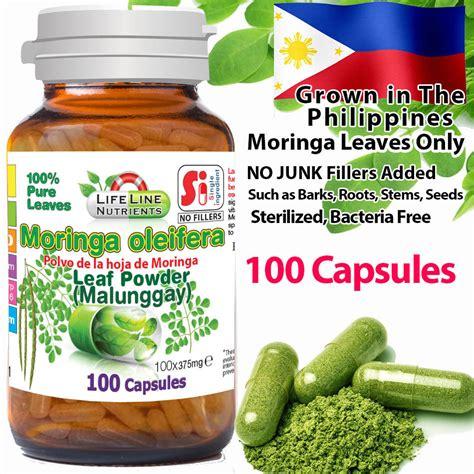 moringa leaf capsule picture 13
