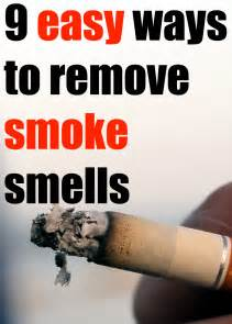 eliminate smell of cigarette smoke picture 1