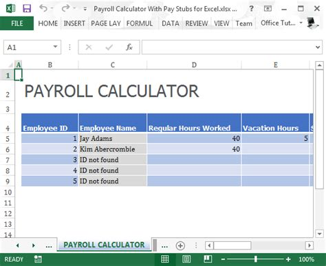 paycheck calculator online for small business picture 1
