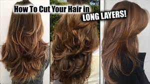 how to cut layers in long hair picture 4