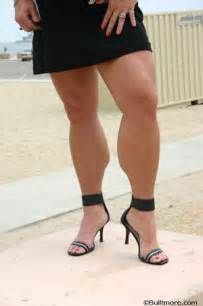 biggest women calves picture 6