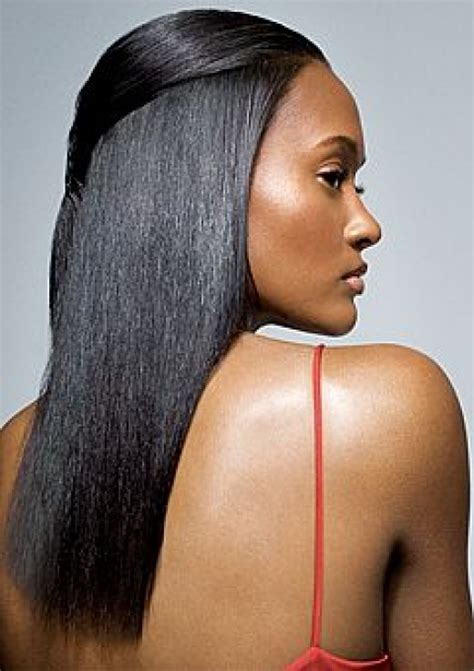 conditioning relaxed hair picture 3