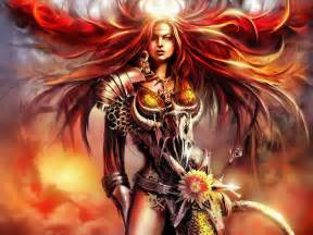 female muscle art & fantasy picture 10
