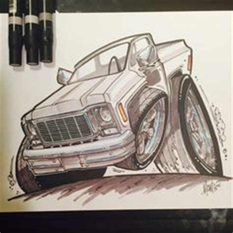 high octane muscle car drawings picture 9