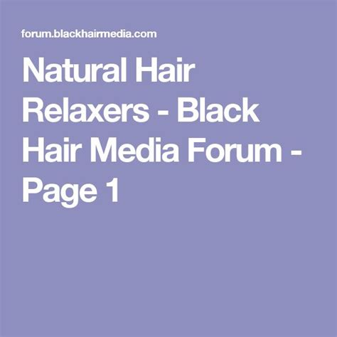 Homemade hair relaxer recipe picture 3