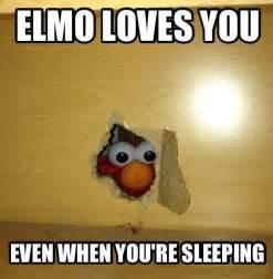 elmo sleeping bad picture 6