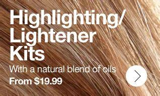 all natural hair hilighting kit picture 9