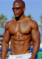 black muscle abs picture 5
