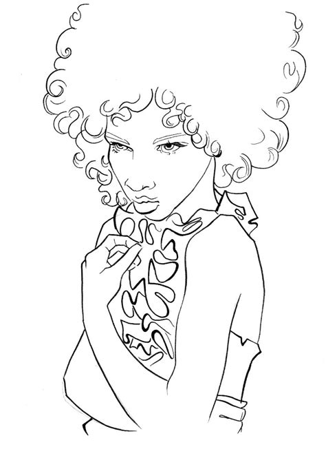 coloring pages on hair picture 14