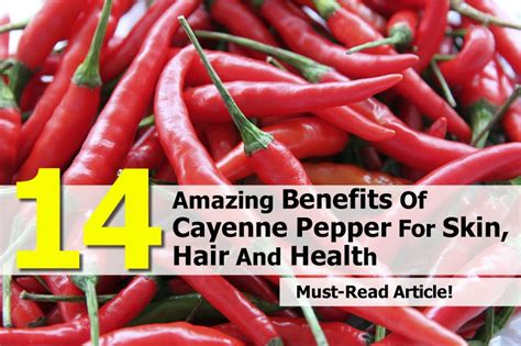 skin care recipes diets with cayenne pepper picture 2