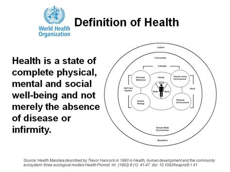 definition of health picture 1