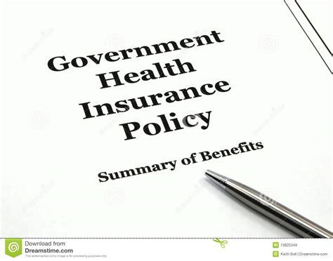 government health care insurance picture 2
