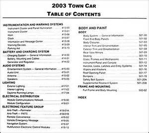 lincoln town car service manual picture 5