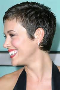 alyssa milano with short hair picture 9