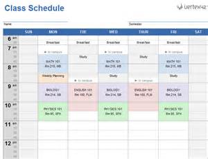 schedule picture 17