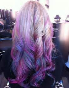 purple and pink hair color picture 10