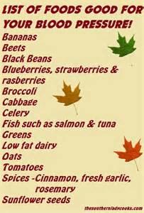 menu for high blood pressure picture 2