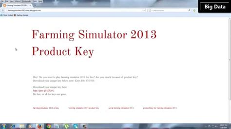 farm simulator product key picture 1