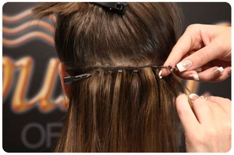 flat hair weave technique picture 10